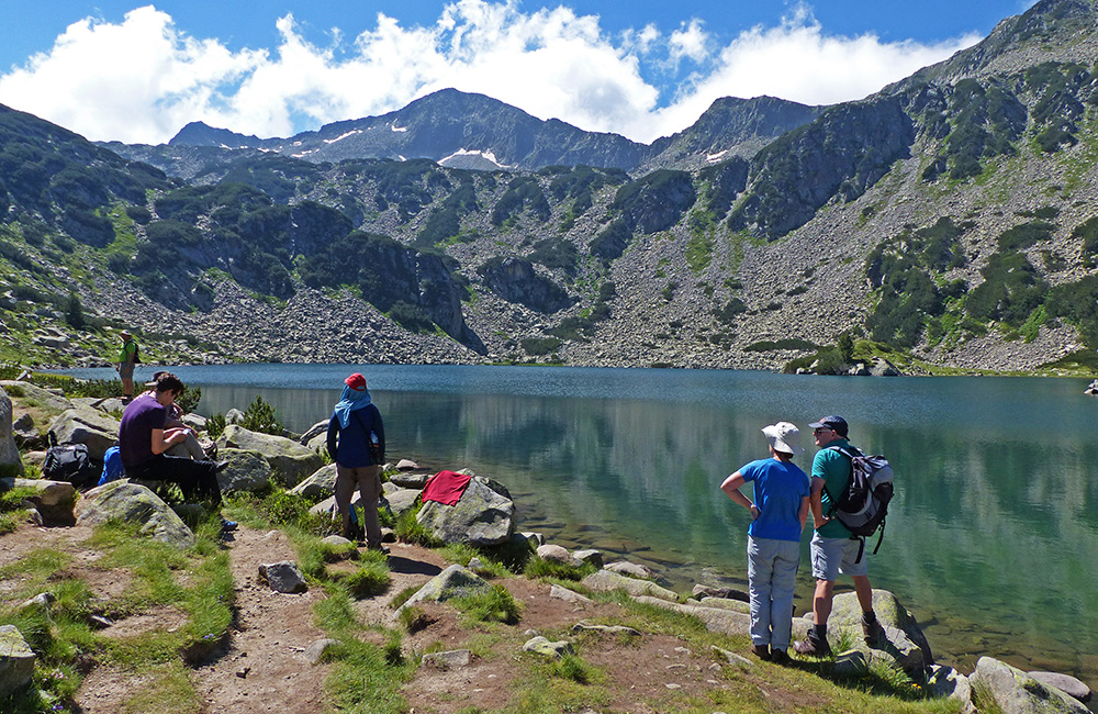 independent hiking trek in bulgaria
