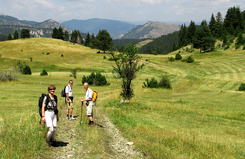 mountain walking and hiking tours, bulgaria