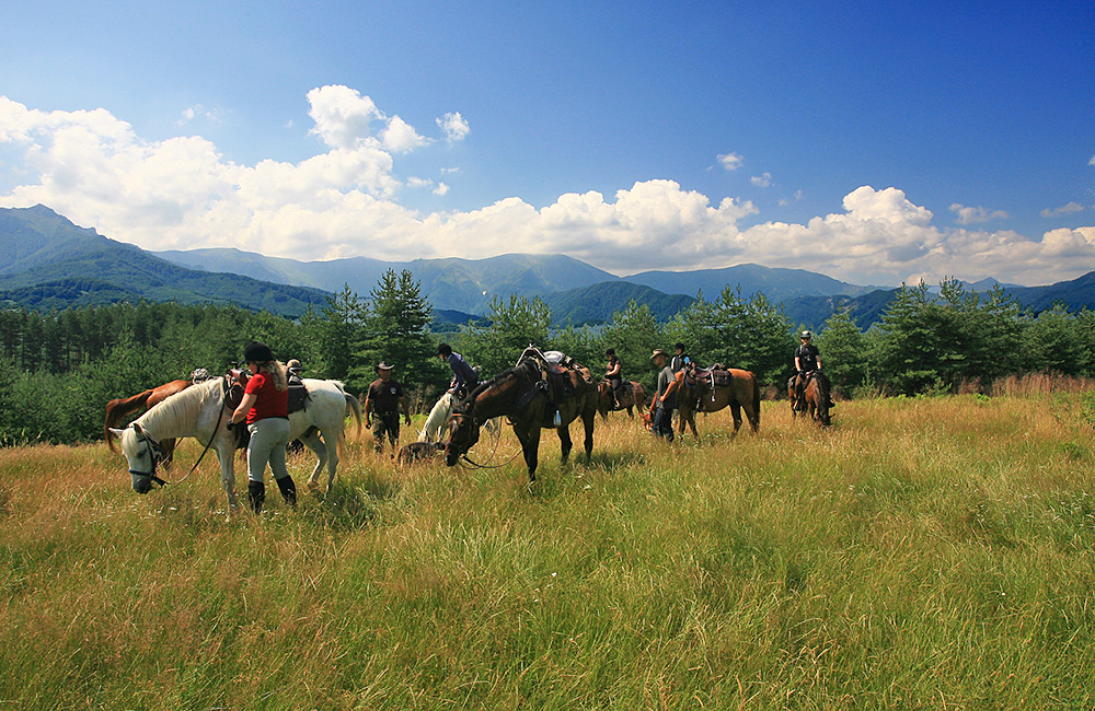 horseback and equestrian holidays in bulgaria