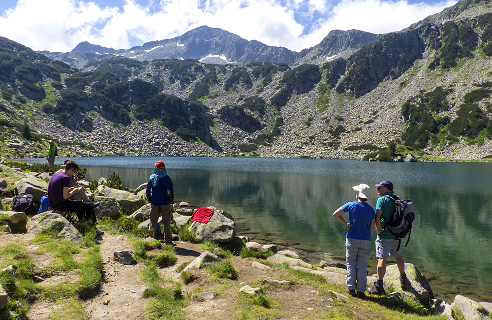 hiking tour in pirin mountains, bulgaria