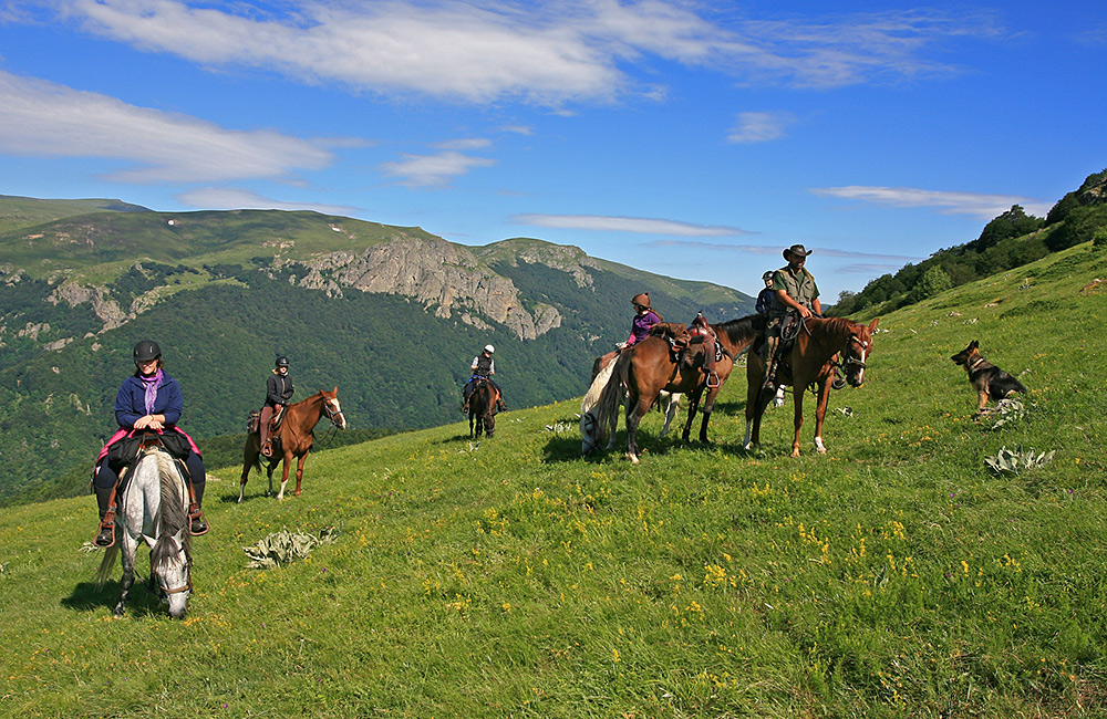 vacation on a horseback in bulgaria