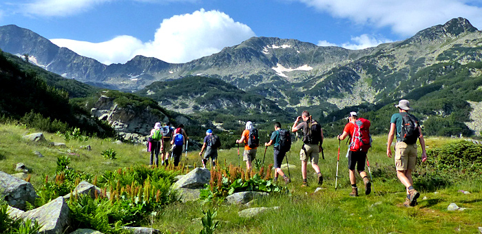 guided trekking and escorted hiking tour in bulgaria
