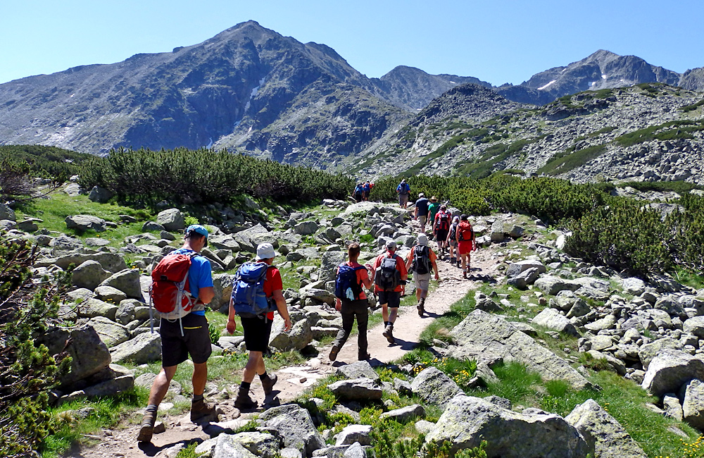 hiking and trekking tours in bulgaria, rila mountains