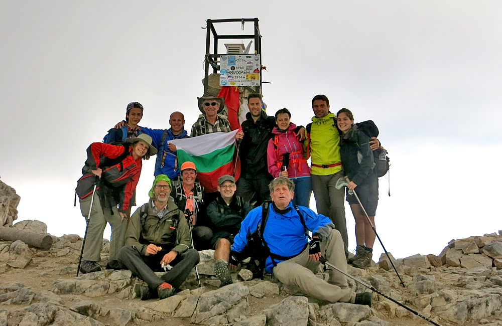 vihren summit hiking tours in pirin mountains, bulgaria