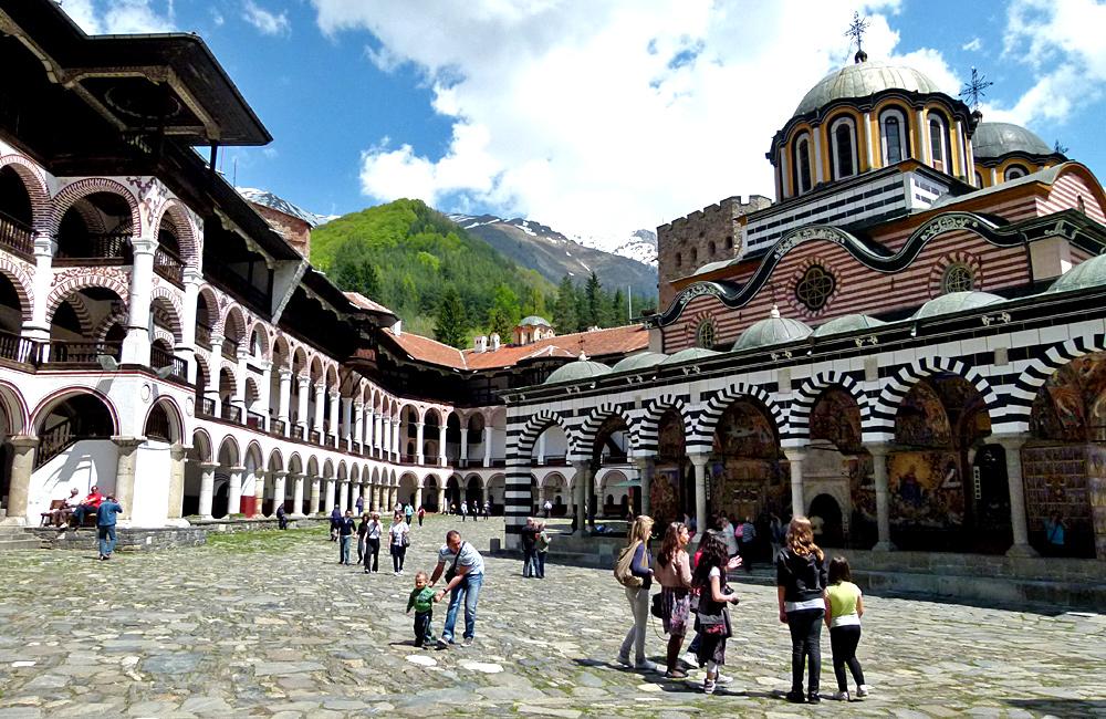 rila monastery excursions, bulgaria