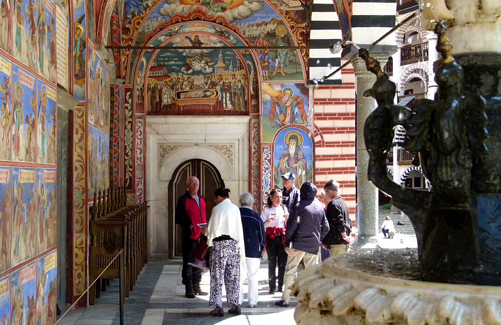 culture and history tours of bulgaria, rila monastery
