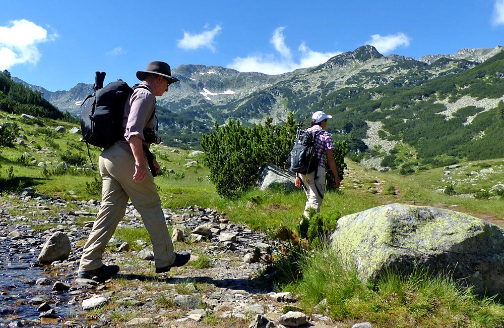 pirin mountains walking and hiking tours, bulgaria