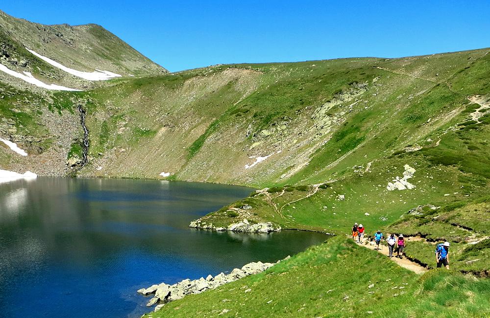 the seven rila lakes hiking tours in rila mountains, bulgaria
