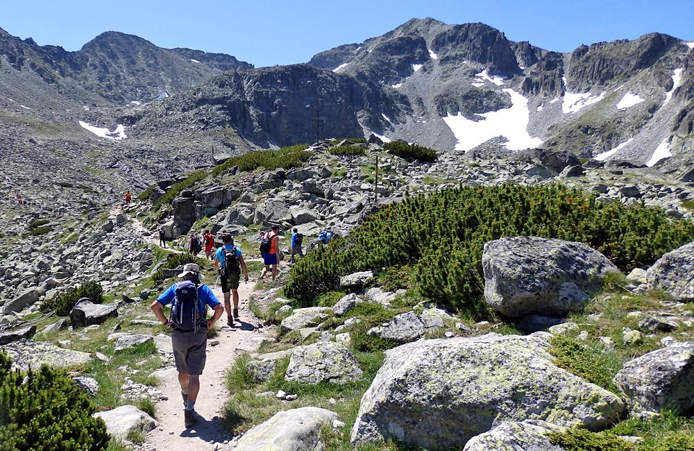 rila mountains walking and hiking tours, bulgaria