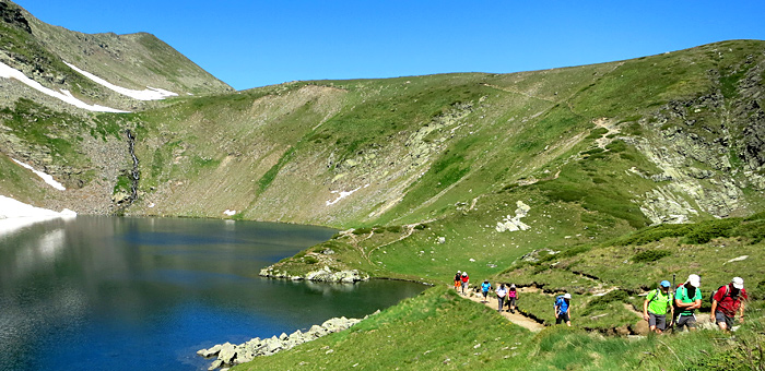 rila mountains self-guided trekking tour in bulgaria