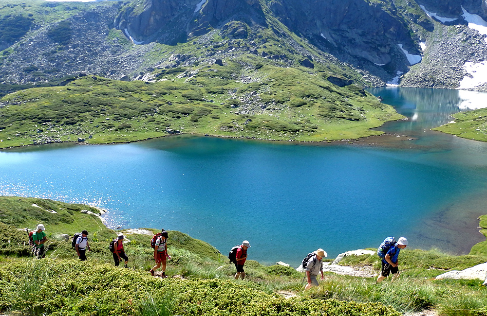 the seven rila lakes hiking tour, bulgaria
