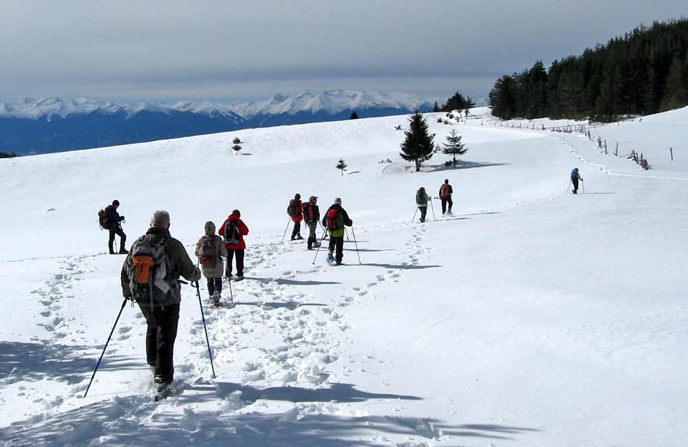 snowshoeing treks in bulgaria