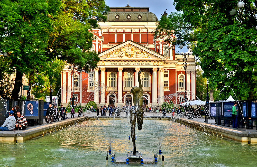 culture and history tours of bulgaria, the national theatre of sofia