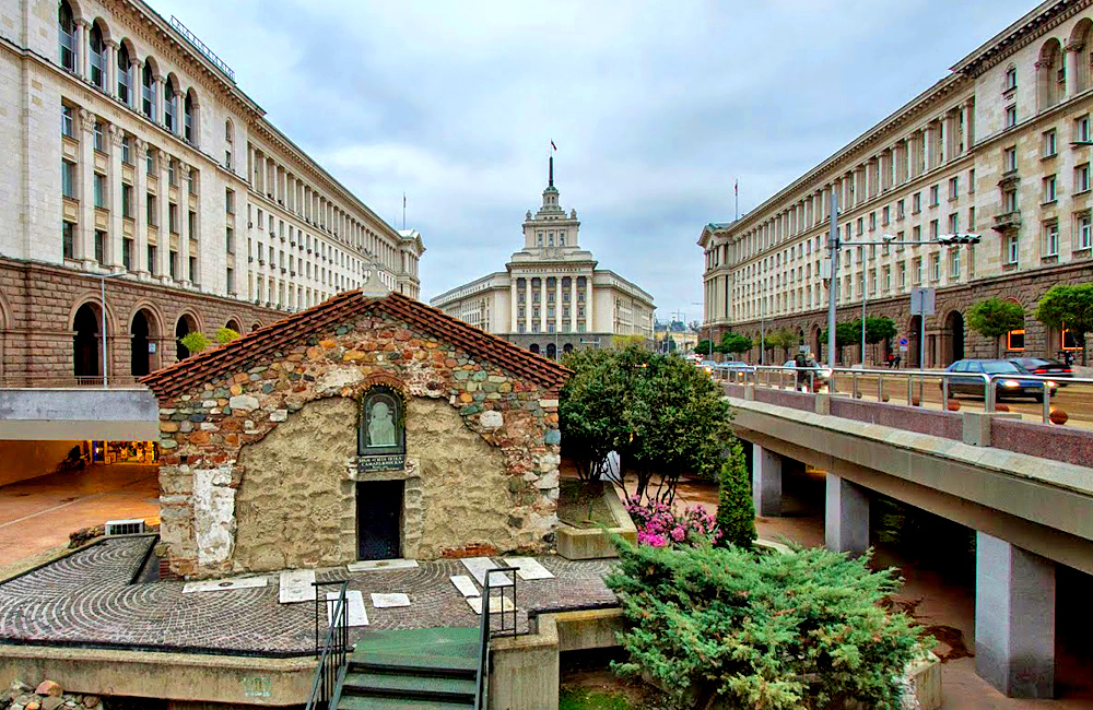 culture and history tours of bulgaria, sofia central parts