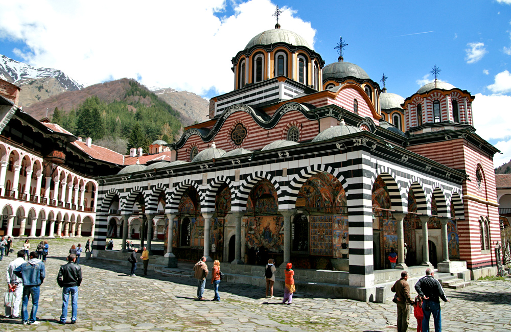 unesco sights sightseeing tour of bulgaria, rila monastery