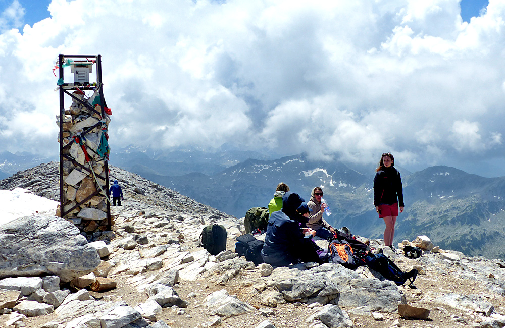 trekking in the pirin mountains of bulgaria, mount vihren