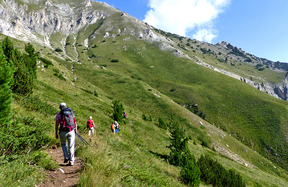 trekking in the pirin mountains of bulgaria