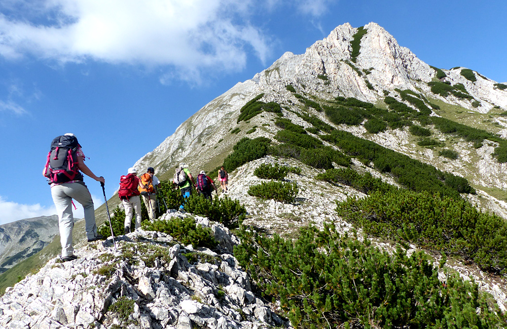 hiking tour in the pirin mountains of bulgaria