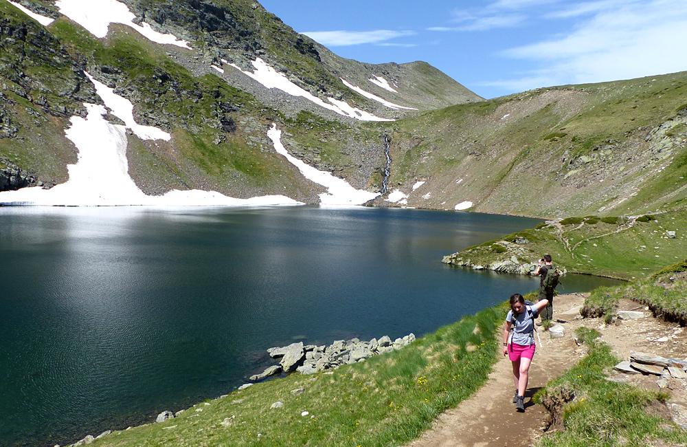 trekking in the rila mountains of bulgaria