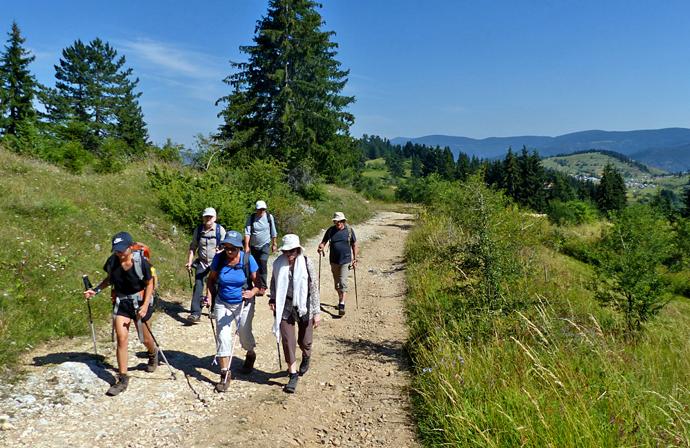 hiking tour in the rhodope mountains of bulgaria