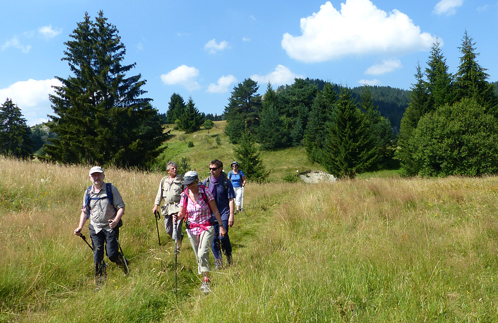 trekking in the rhodope mountains of bulgaria