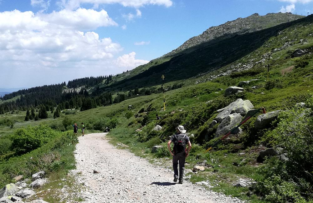 hiking tour on vitosha mountains, bulgaria