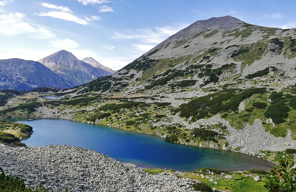 pirin mountains hiking trek, bulgaria