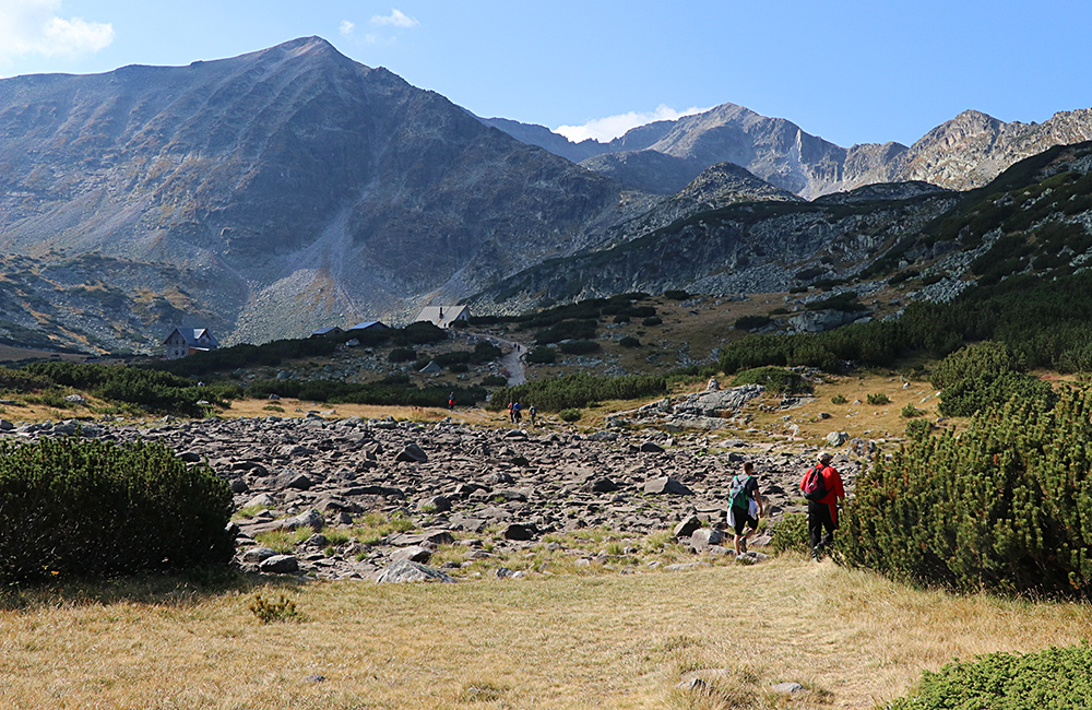 hiking treks in the rila mountains, bulgaria